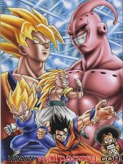 Saiyan vs super buu