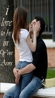 I love to be in your arms