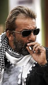 Sanjay dutt smoking