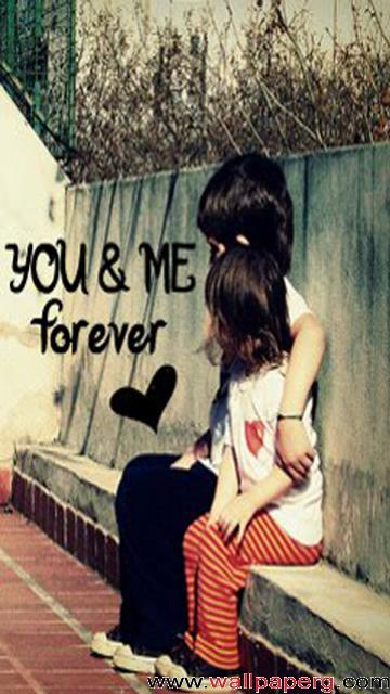 Love Wallpaper U And Me : Download U and me forever baby - Iphone saying wallpapers-Mobile Version