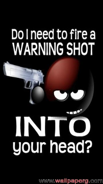 Warning shot ,wide,wallpapers,images,pictute,photos