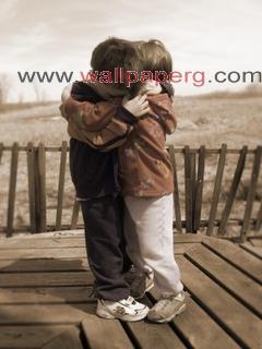 A sweet hug