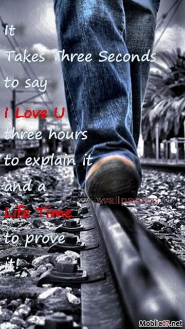 I love you life time