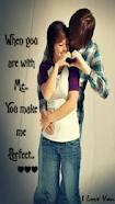 You make me perfect