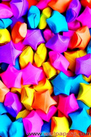 Star origami ,wide,wallpapers,images,pictute,photos