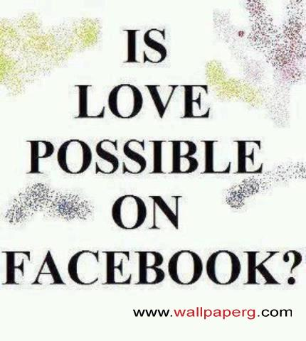 Facebook love possible
