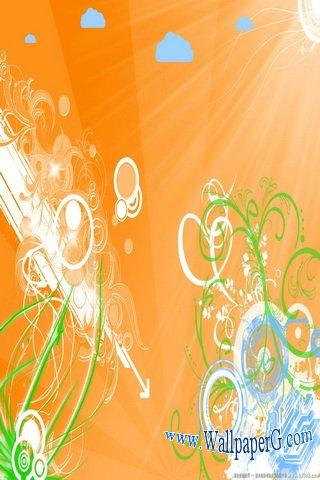 Orange pattern ,wide,wallpapers,images,pictute,photos