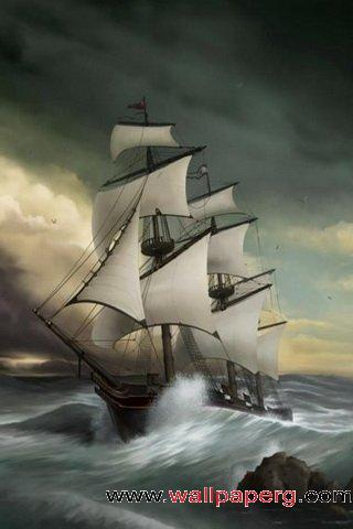 Sailboat painting ,wide,wallpapers,images,pictute,photos