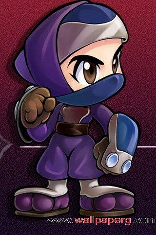 Ninja purple ,wide,wallpapers,images,pictute,photos