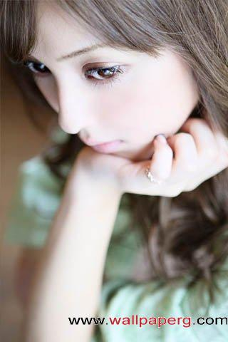 Contemplative girl ,wide,wallpapers,images,pictute,photos