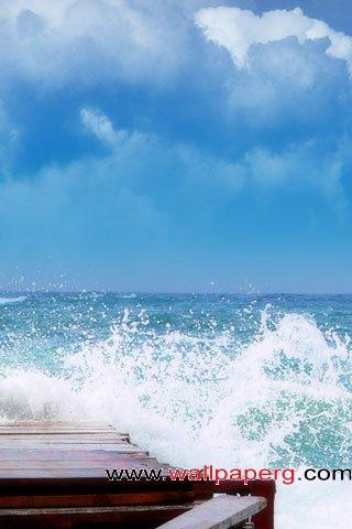 High tide ,wide,wallpapers,images,pictute,photos