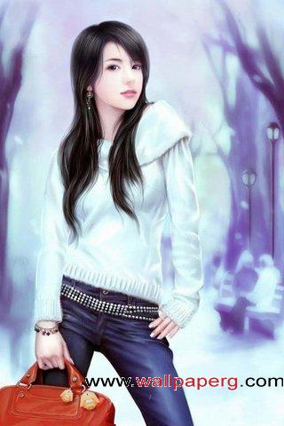 Stylish girl with attitude case ,wide,wallpapers,images,pictute,photos
