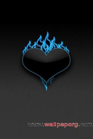 Black heart ,wide,wallpapers,images,pictute,photos
