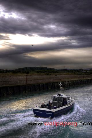 Fishing boat ,wide,wallpapers,images,pictute,photos