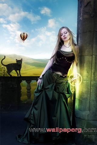 The wizard lady ,wide,wallpapers,images,pictute,photos