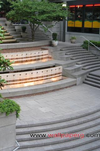Stairway step archiecture