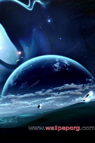 Beautiful outer space