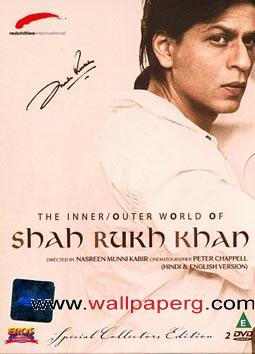 The outer world of shah rukh khan