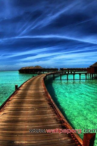 Wooden bridge ,wide,wallpapers,images,pictute,photos