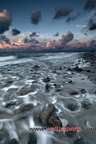 Silky shore ,wide,wallpapers,images,pictute,photos