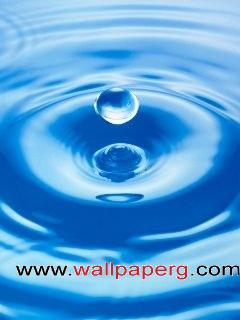 Fresh light blue water drop  ,wide,wallpapers,images,pictute,photos