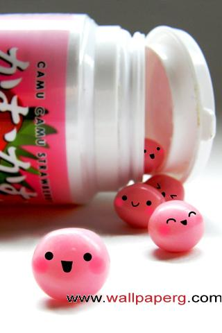 Happy gum balls