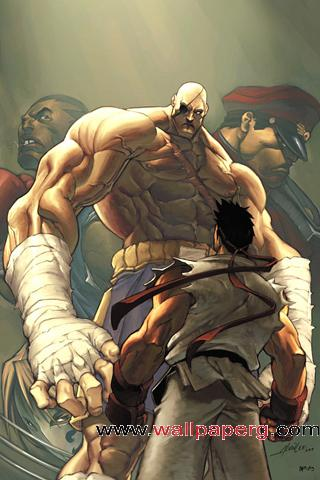 Street fighter match up ,wallpapers,images,
