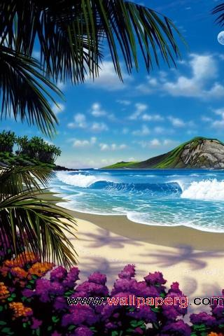 Painted vacation ,wide,wallpapers,images,pictute,photos