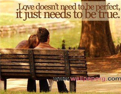 Love does nt need to be p