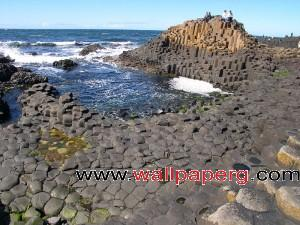 Giants causeway ,wide,wallpapers,images,pictute,photos
