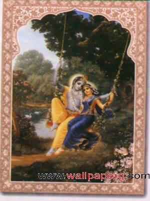 Jhula sang krishna radha ,wide,wallpapers,images,pictute,photos