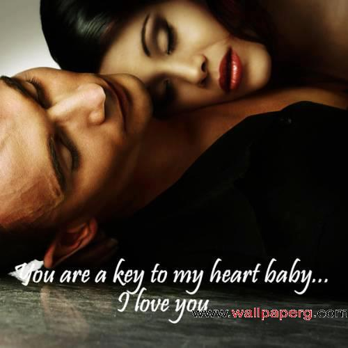 You are the key to my hea