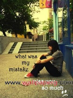 What was my mistake ,wide,wallpapers,images,pictute,photos