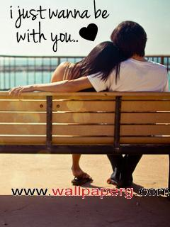 Just with you