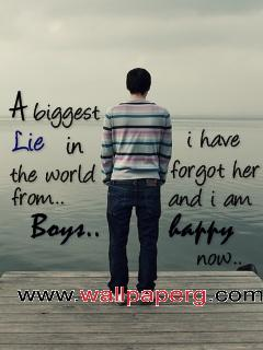 Biggest lie ,wide,wallpapers,images,pictute,photos
