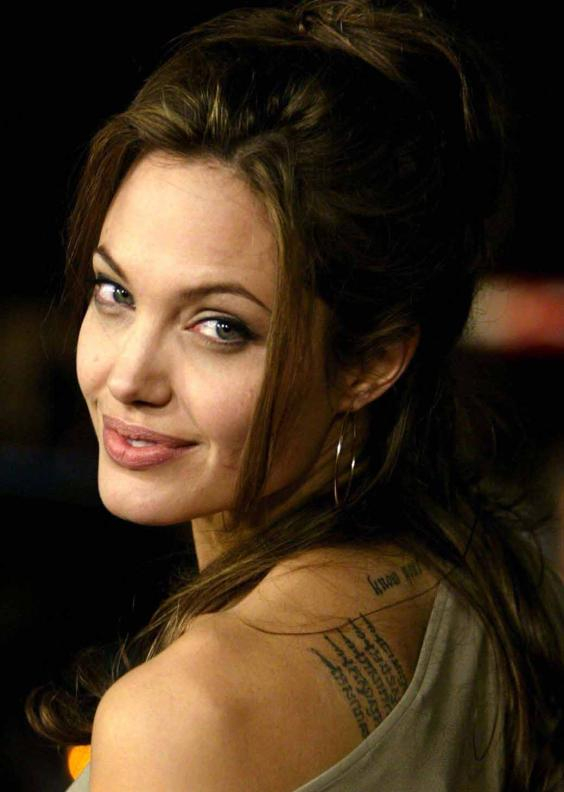 Angelina jolie tattoo ,wide,wallpapers,images,pictute,photos