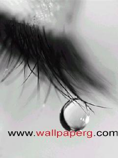 Tears are those that fall frm heart