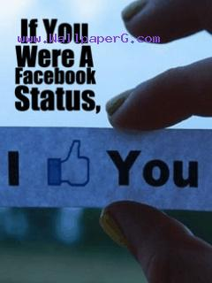 You were facebook status