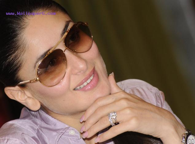Kareena with black specs