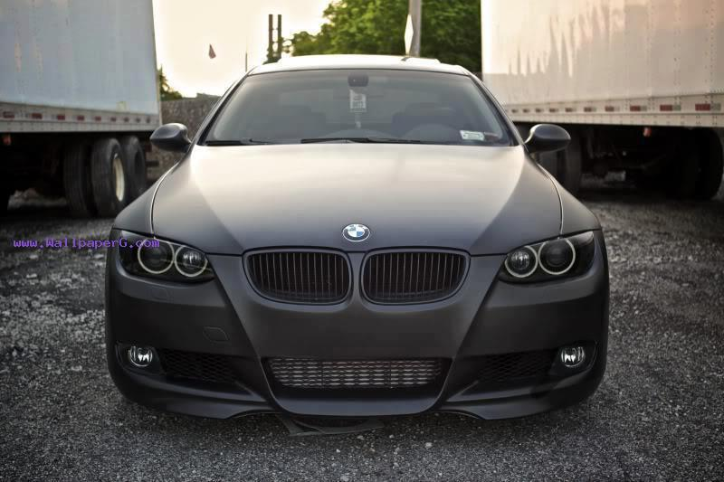 Bmw e92 335i coupe matte black ,wide,wallpapers,images,pictute,photos