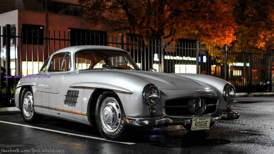 Mercedes bens sl300, 1955 ,wide,wallpapers,images,pictute,photos
