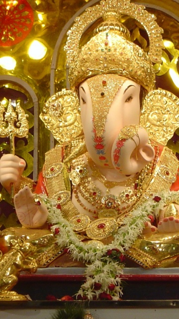 download ganpati bapa moriya spiritual wallpaper for