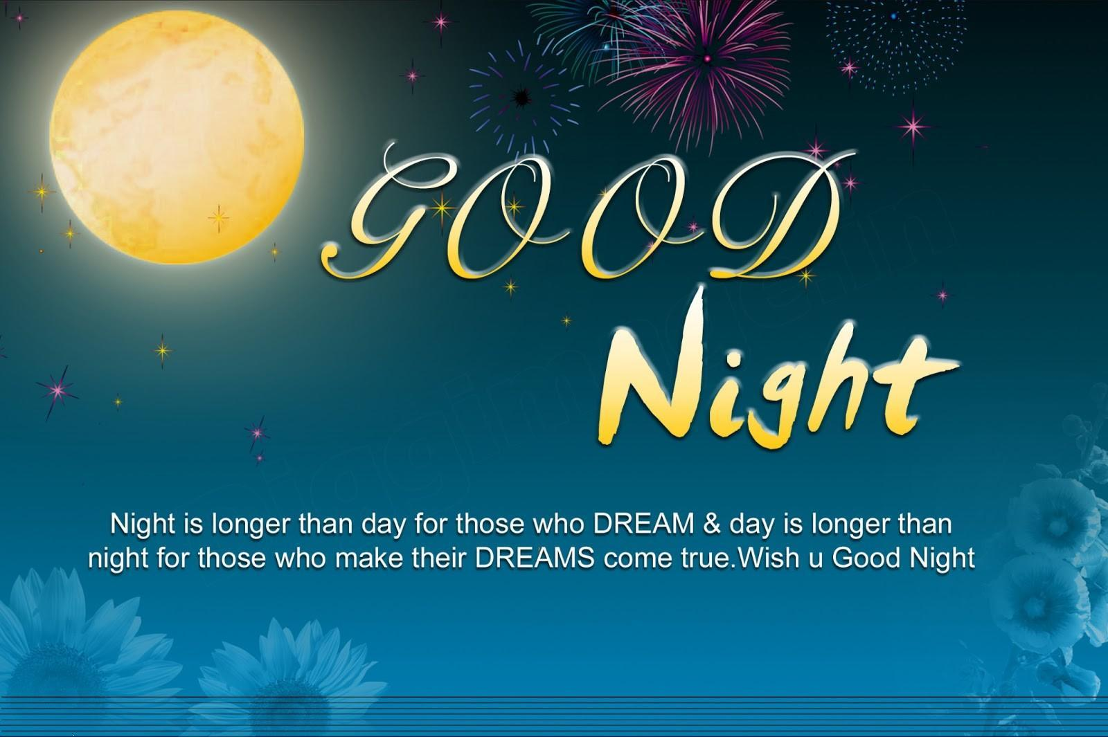 Download Good Night Dreams Hd Quote Wallpaper For Mobile Cell Phone