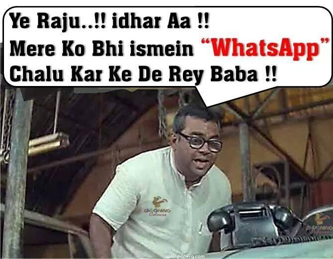 Babu Rao Whatsapp Funny Image Wide Wallpapersultra Hd K Wallpapersimages