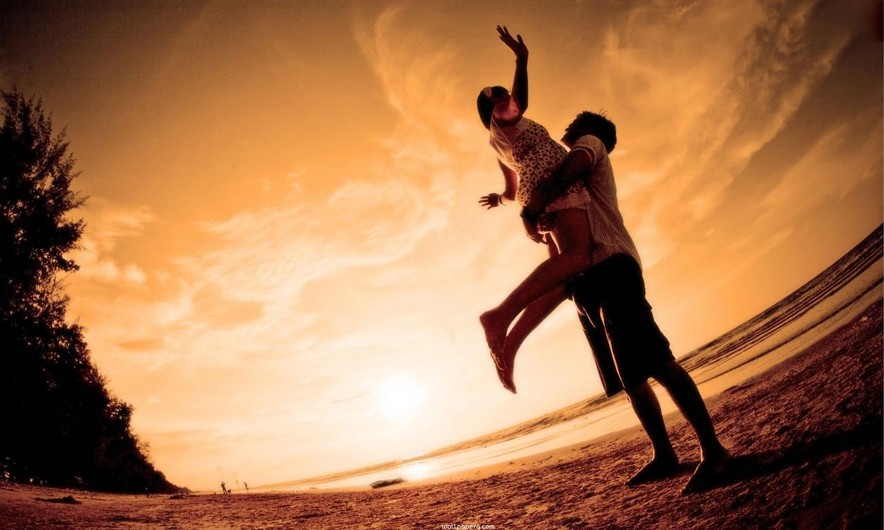 Love couple Hd Wallpaper For Smartphone : Download Love joy of couple hd wallpaper - Romantic wallpapers for your mobile cell phone