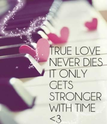 "Get ""Love strong with time quote wallpaper"" at mobile cell phone."