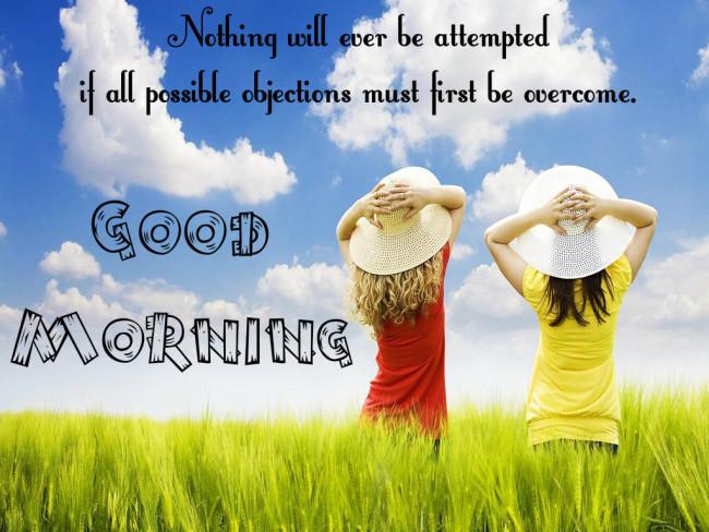 bright good morning