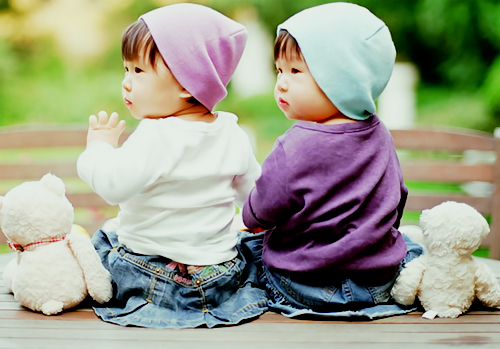 Download Asian Twin Babies Desi Girl Wallpapers For Your Mobile Cell Phone