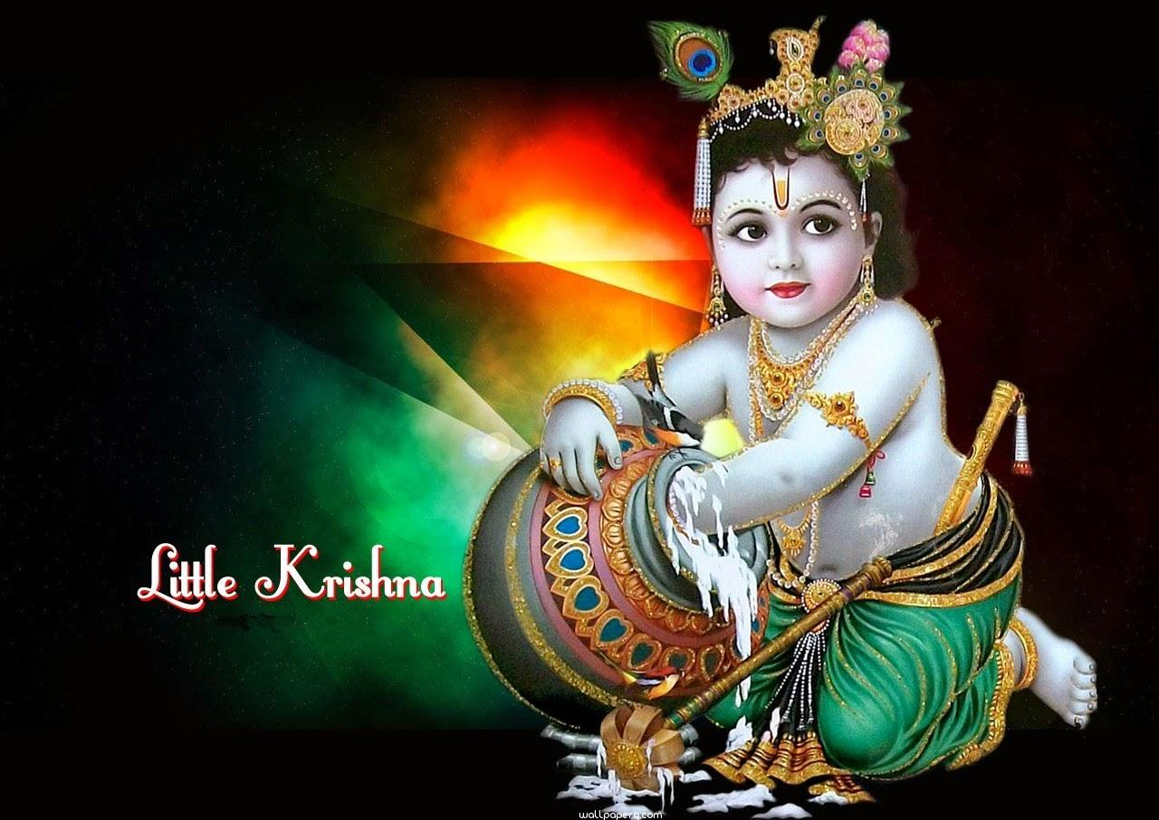 Download Bal Gopal Hd Wallpaper For Janamashtmi For Laptop