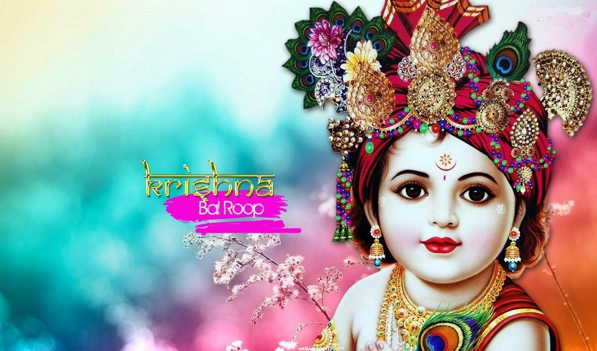 Download Krishna ji bal gopal hd wallpaper - Janmashtami